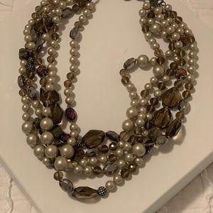 Stella & Dot Jewelry - Stella & Dot Pearl mix necklace